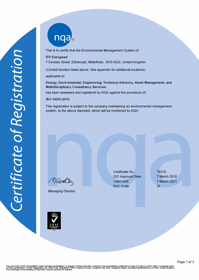 quality and environmental management system itpenergised