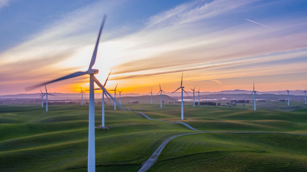 energy transition wind