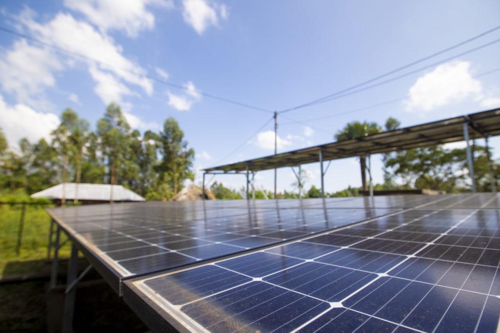 solar mini grid Africa